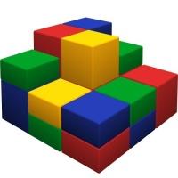 Мягкий спортивный модуль «Пирамида»
