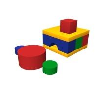 Мягкий игровой комплекс «Печка»