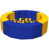 Сухой бассейн с шариками «16 граней»