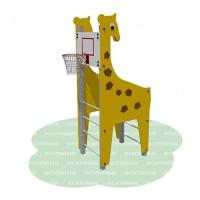 Баскетбольный щит «Жираф»