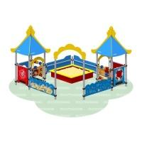 Песочный дворик «Море»