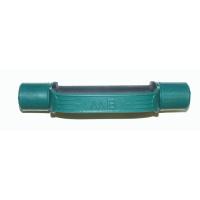 MB-FitC-1,5 Гантель обрезиненная с обрезиненной ручкой - цветная, 1,5 кг, МВ Barbell