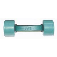 MB-FitC-2,5 Гантель обрезиненная с обрезиненной ручкой - цветная, 2,5 кг, МВ Barbell