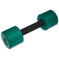 MB-FitC-4 Гантель обрезиненная с обрезиненной ручкой - цветная, 4 кг, МВ Barbell