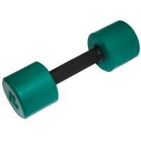 MB-FitC-5 Гантель обрезиненная с обрезиненной ручкой - цветная, 5 кг, МВ Barbell