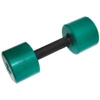 MB-FitC-6 Гантель обрезиненная с обрезиненной ручкой - цветная, 6 кг, МВ Barbell