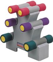 Набор неопреновых гантелей 5.44 кг. на подставке Oxygen P800-12L