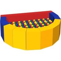 Сухой бассейн с шариками «Долька»