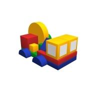 Мягкий игровой комплекс «Автофургон»