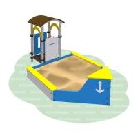 Песочница «Корабль»