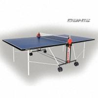 Теннисный стол OUTDOOR ROLLER FUN BLUE с сеткой 4мм, Donic