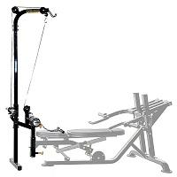 Опция - тяга сверху Powertec Workbench Lat стойка аксессуар WB-LTA13